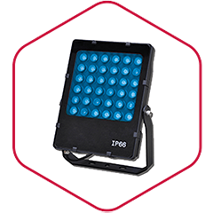 LED Stralers RGB COLOR Evolve binnen en buiten