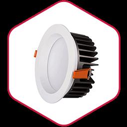 Integra LED downlight inbouwspot Down plus