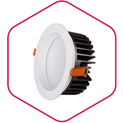 Integra LED downlight inbouwspot Down plus