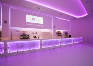 Cinema white led strips