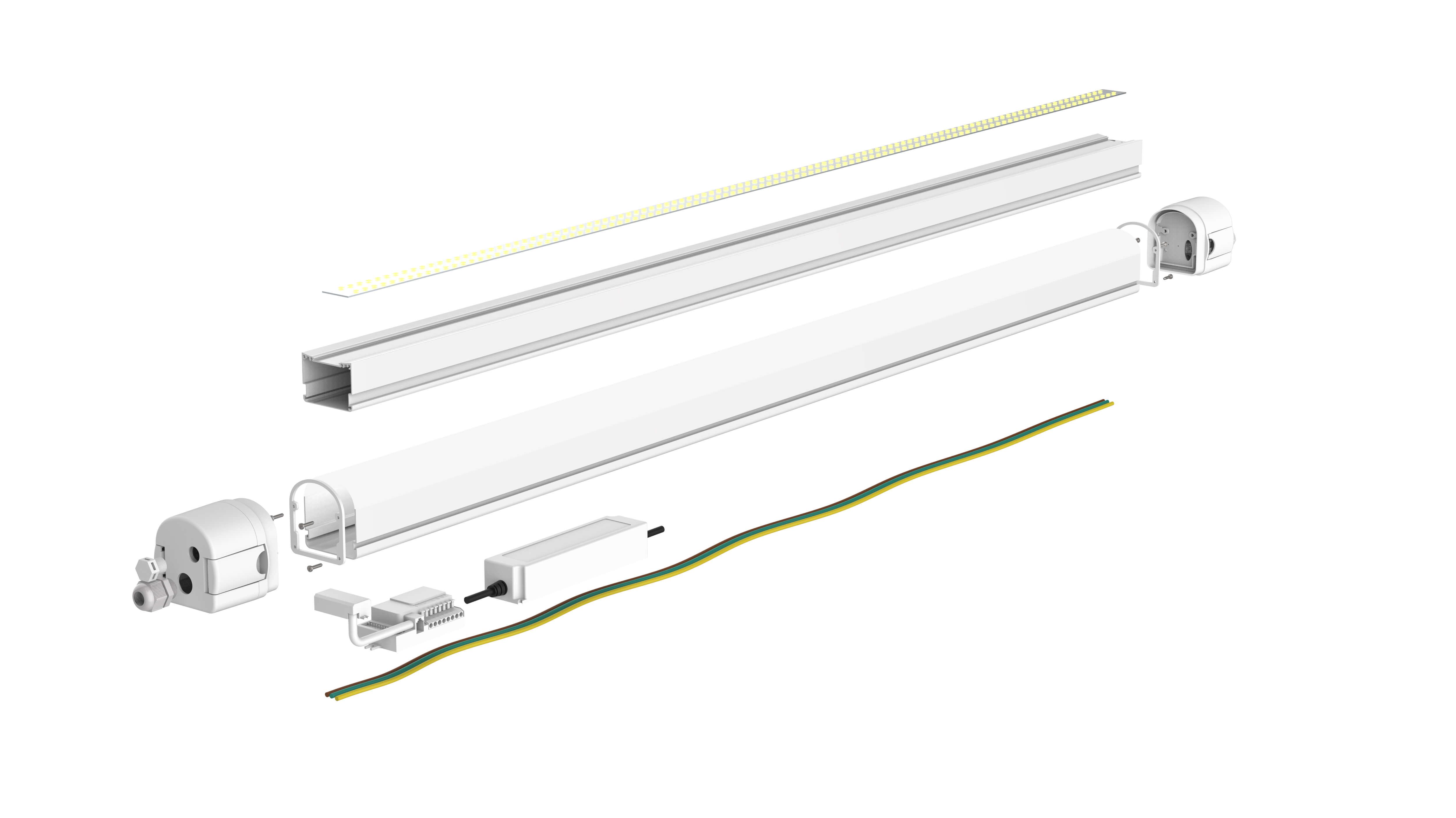 Speedy is een strak en modern armatuur met de focus op installatietijd