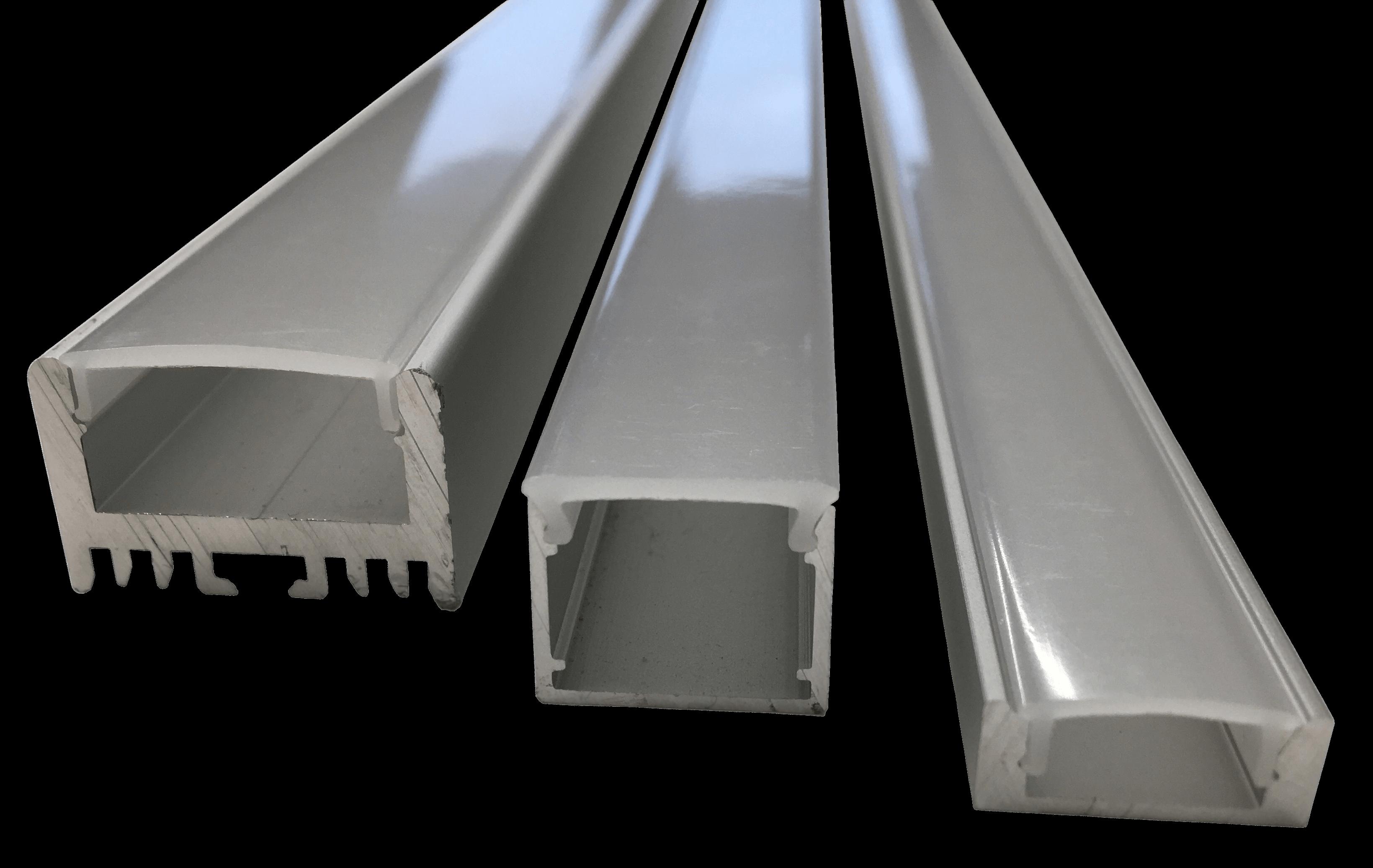 Integratech alu baseline aluminium led strip profiel
