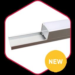 Integratech Ecoline aluminium led strip profile