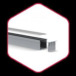 LED strip profiel powerline