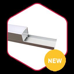 Integratech Ecoline aluminium led strip profiel