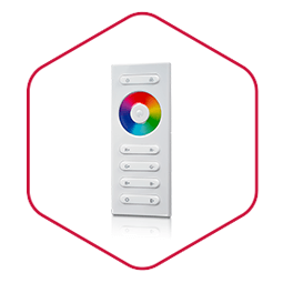 integraech rgb led strip sturing controller