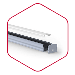 Integratech wide15 aluminium led strip profiel