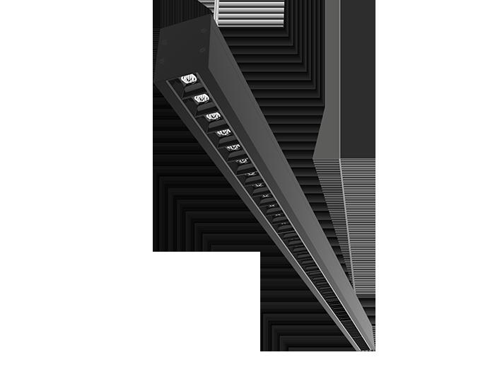 Integratech Lineaconnect zwart met low ugr raster