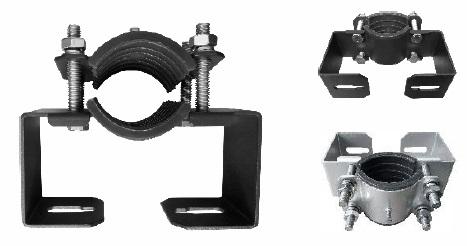 Paal klemopzetstuk 60mm voor Evolve