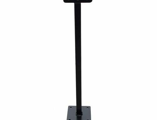 Tige mini 50cm noir pour led floodlight Evolve