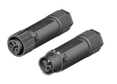 Verbindingsset 3-polig IP68 2,5mm² male-female